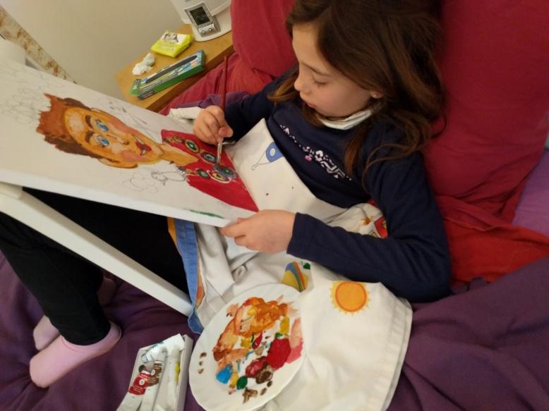Pintando como Frida Khalo